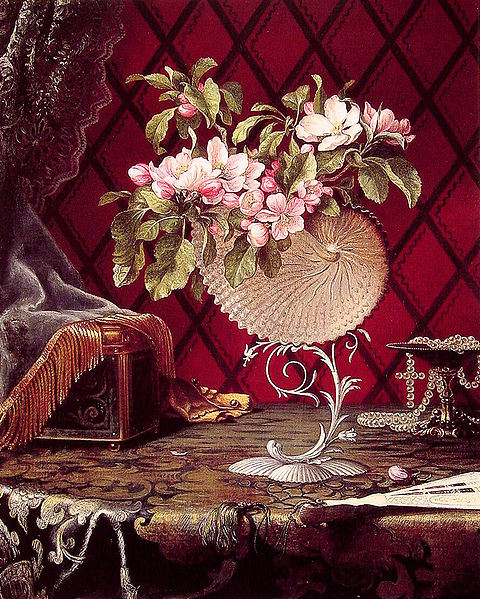 File:Martin Johnson Heade - Still Life with Apple Blossoms in a Nautilus Shell.jpg