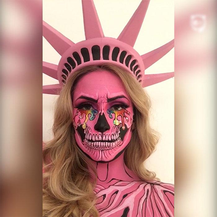 Badass Face Art By Vanessa Davis
