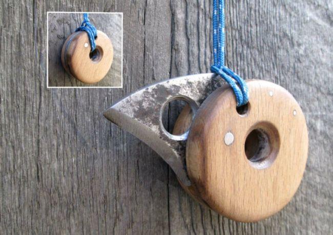 Складной нож «птенец» в стиле «йо-йо» своими руками