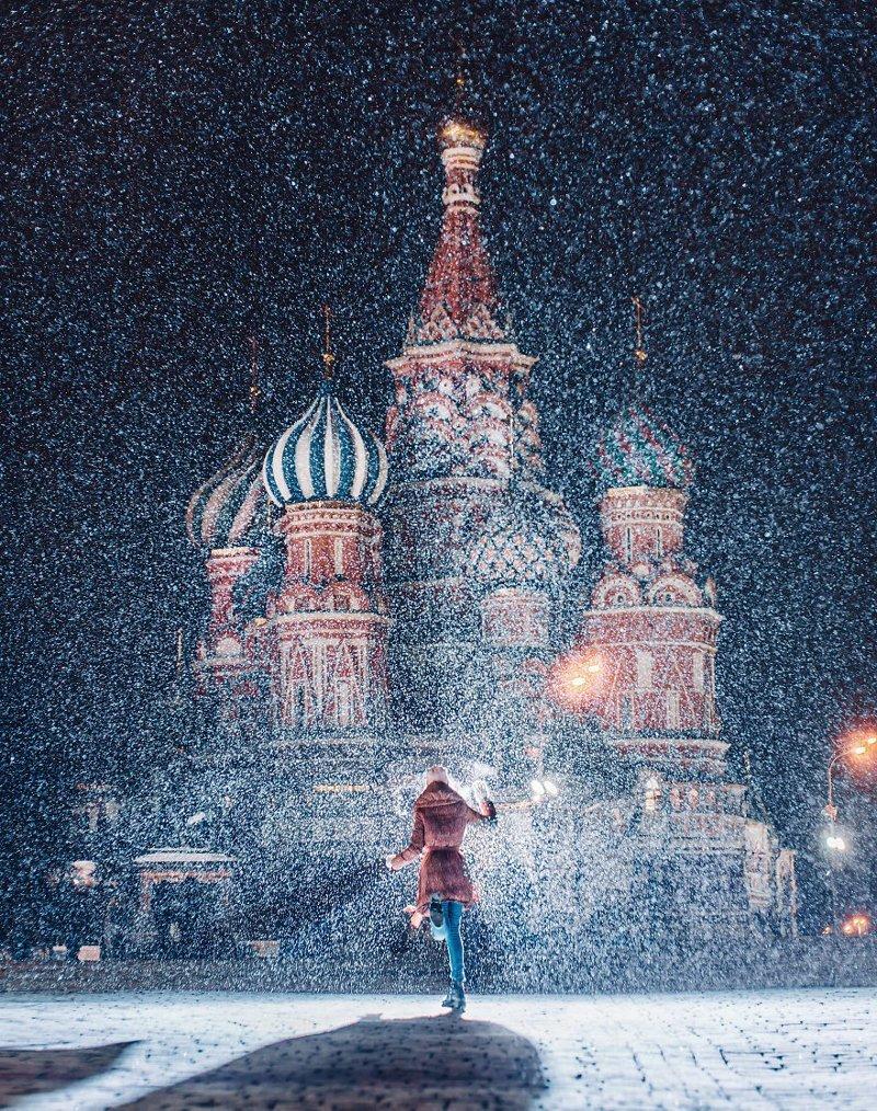 17. достопримечательность, зима, кристина макеева, москва, сказка, снег, фотография, фотомир