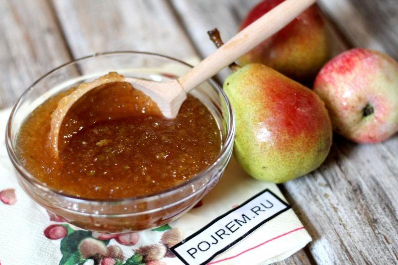 Яблочный джем в домашних условиях рецепт с фото 491