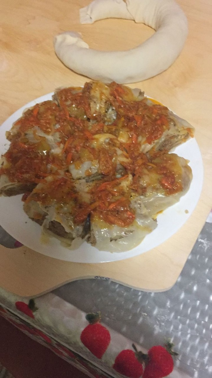 Восточное блюдо Ханум