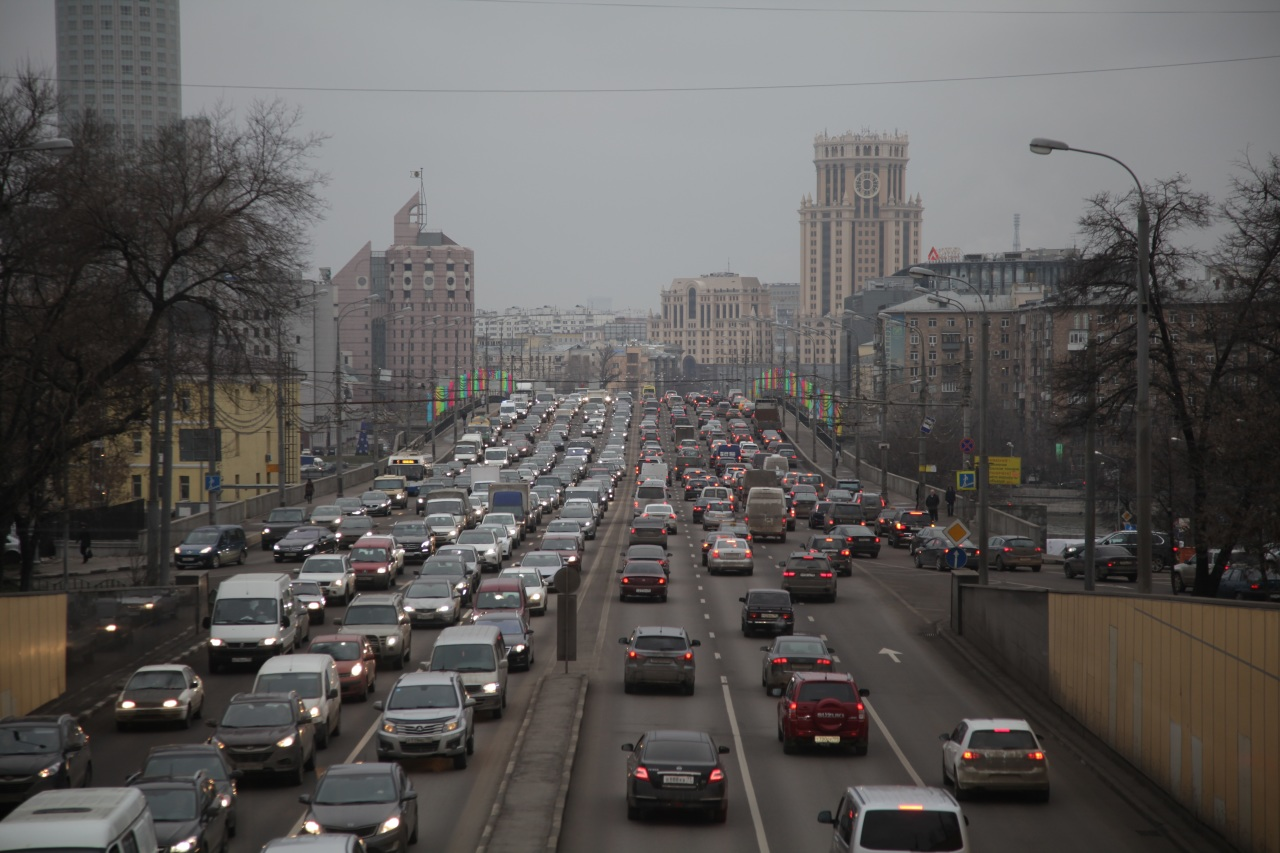 В Москве ограничат движение транспорта в новогоднюю ночь