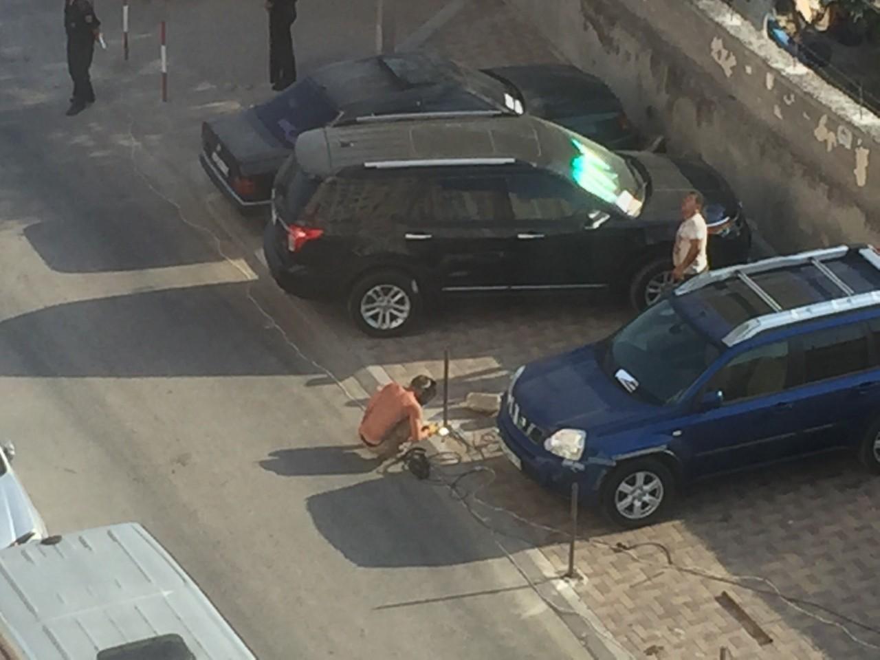 Люди патриоты до того, как тронули их парковочные места