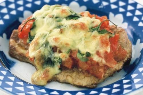 Рыба по-царски - порционная подача блюда очень удобна