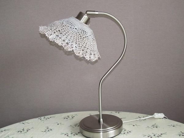 Реставрация: замена абажура настольной лампы