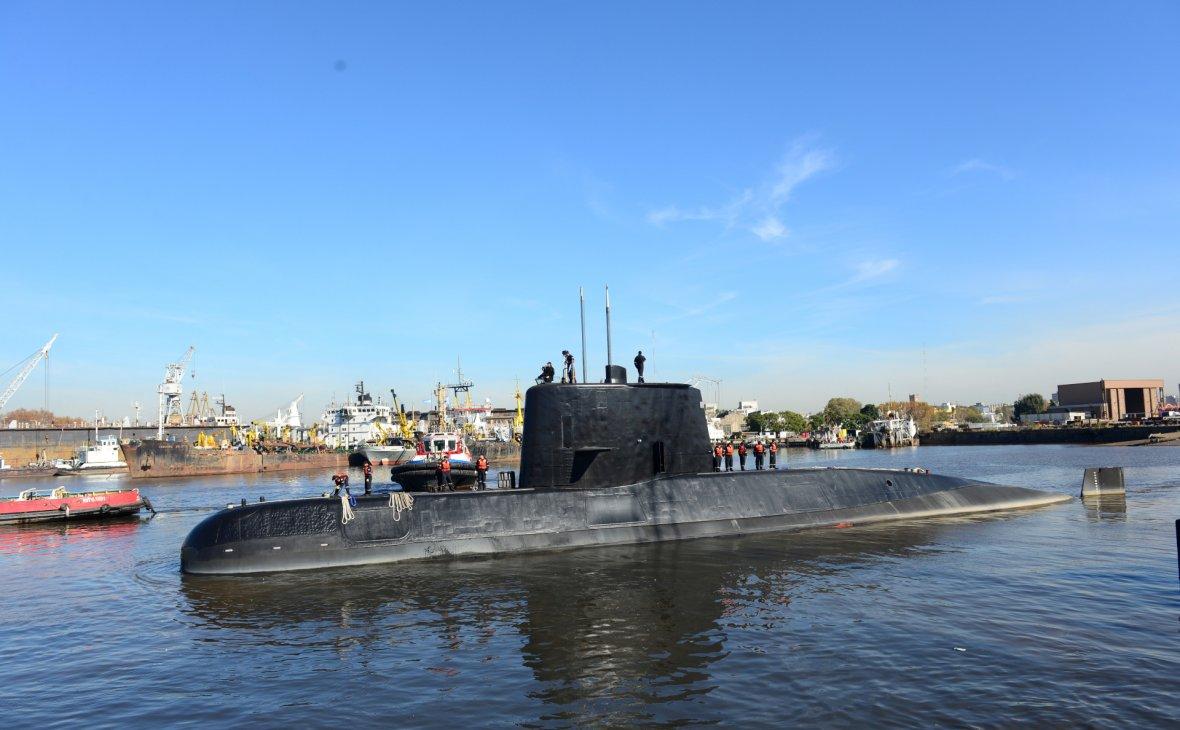 ВМС Аргентины сообщили об об…