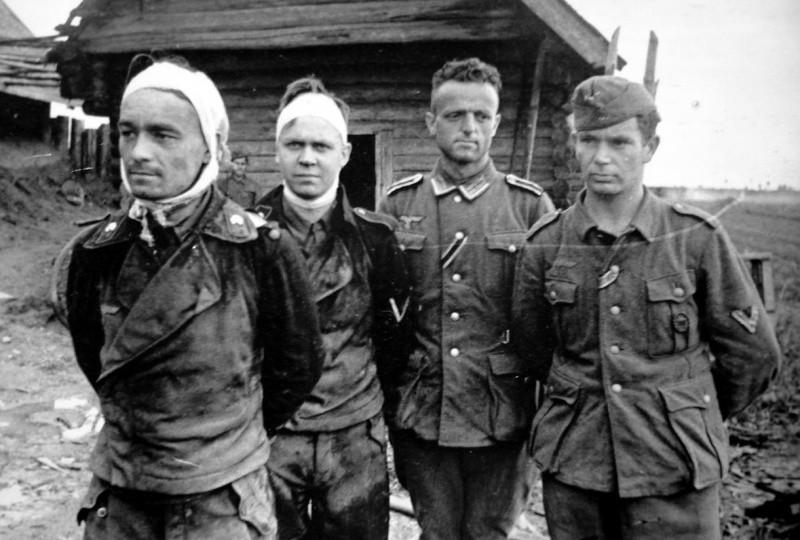 Жизнь немецких военнопленных