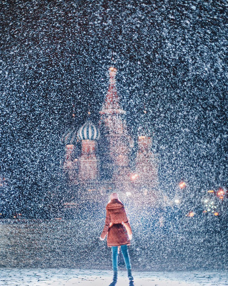 20. достопримечательность, зима, кристина макеева, москва, сказка, снег, фотография, фотомир
