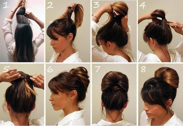 12 лёгких и красивых причёсок на каждый день