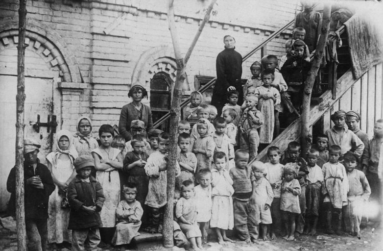 Беспризорники 1920-х годов