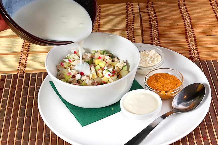 Как приготовить окрошку на кефире — 3 рецепта и 5 полезных советов!