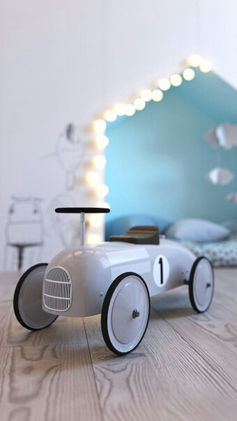 Домик для малыша (проект детской)