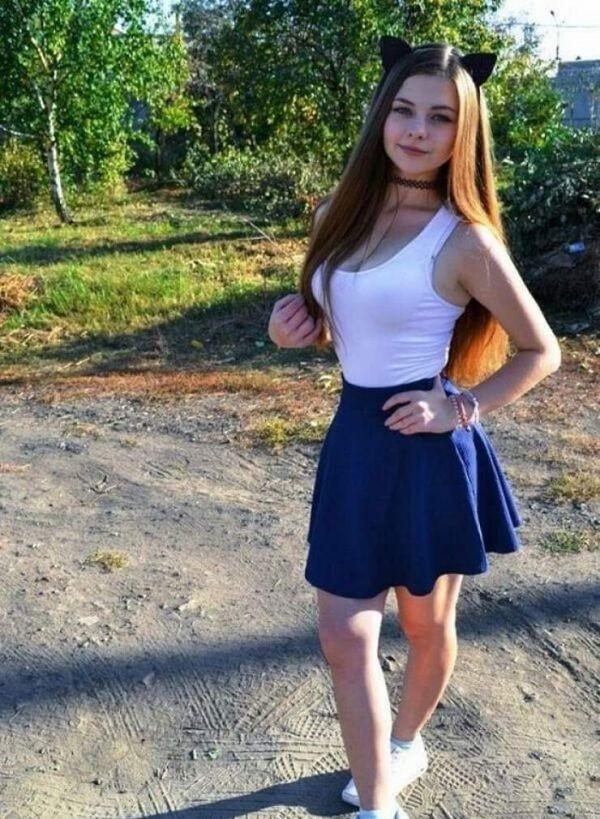 красивые девушки фото школници