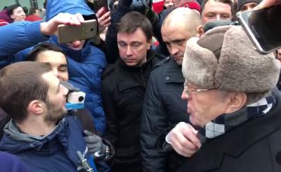 Вы временная молодёжь: Жириновский побеседовал со сторонниками Навального