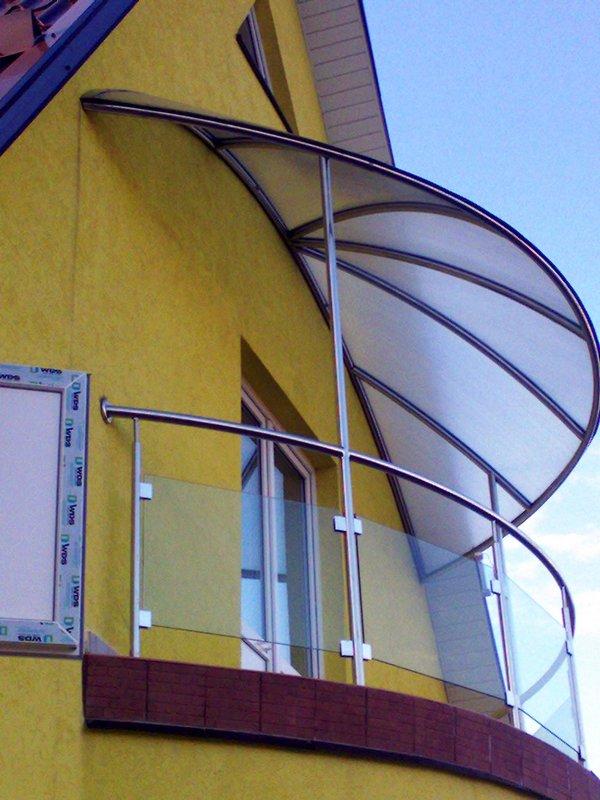 Козырек на балкон: доступная альтернатива крыше блог о самом.