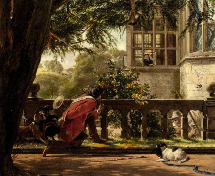 художник John Callcott Horsley (Джон Колкотт Хорсли) картины – 05