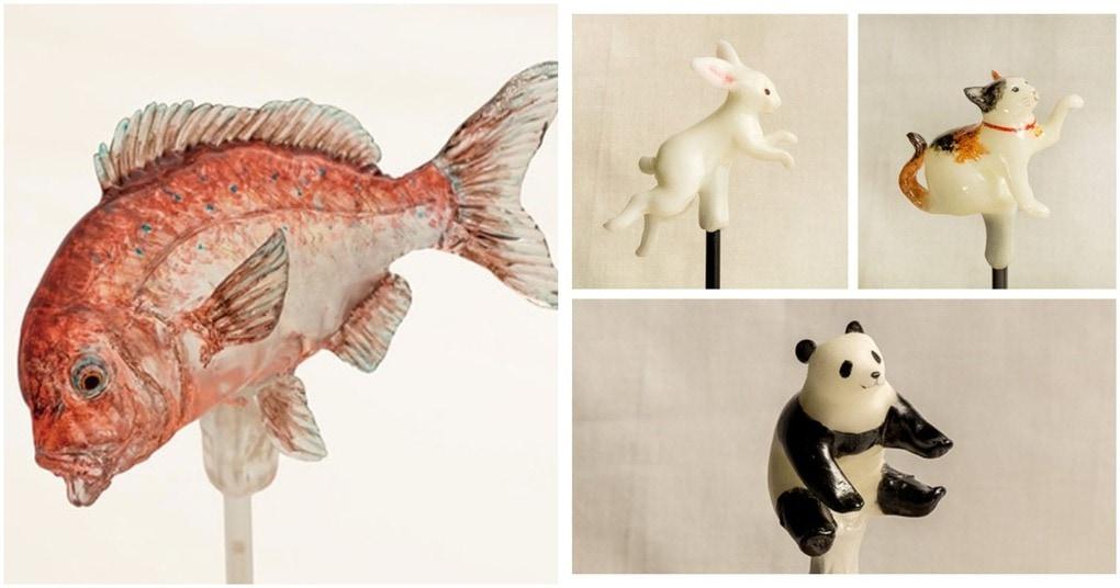 Это вам не петушок на палочке! Японское искусство создания деликатных миниатюрных скульптур