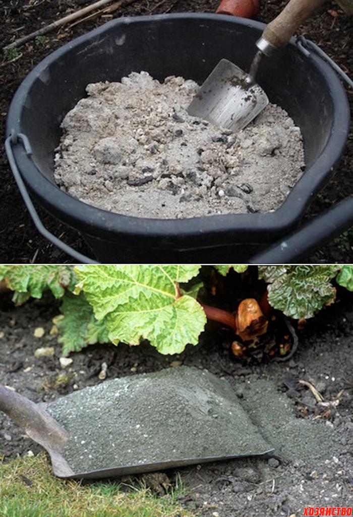 Используем золу на огороде и для чистоты в доме
