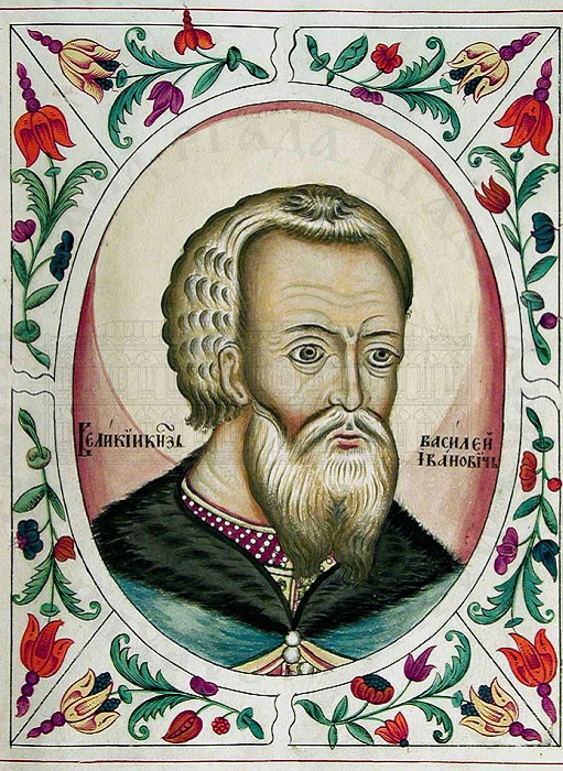 Василий III. Портрет из «Царского титулярника». | Фото: ruvera.ru.