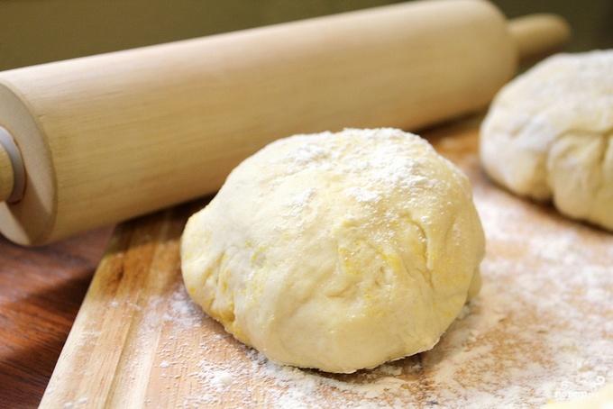 Тесто быстрого приготовления для пирожков и хачапури