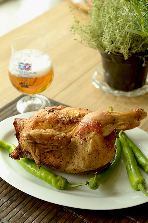 Пьяный цыпленок