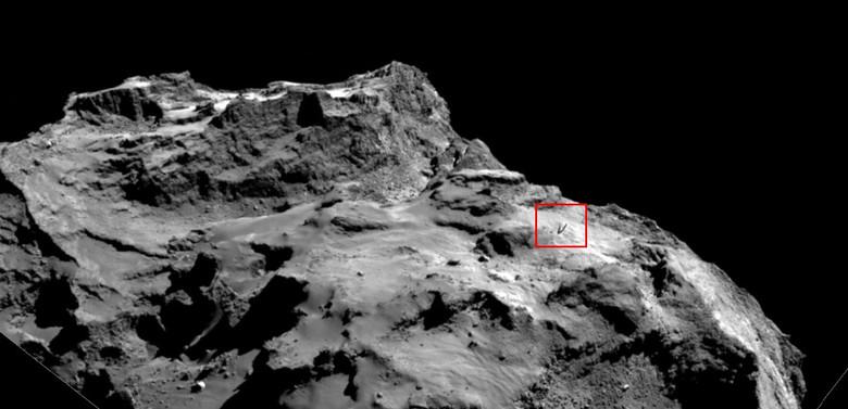 На новом фото кометы Чурюмов…