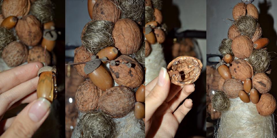 Как сделать орех своими руками 75