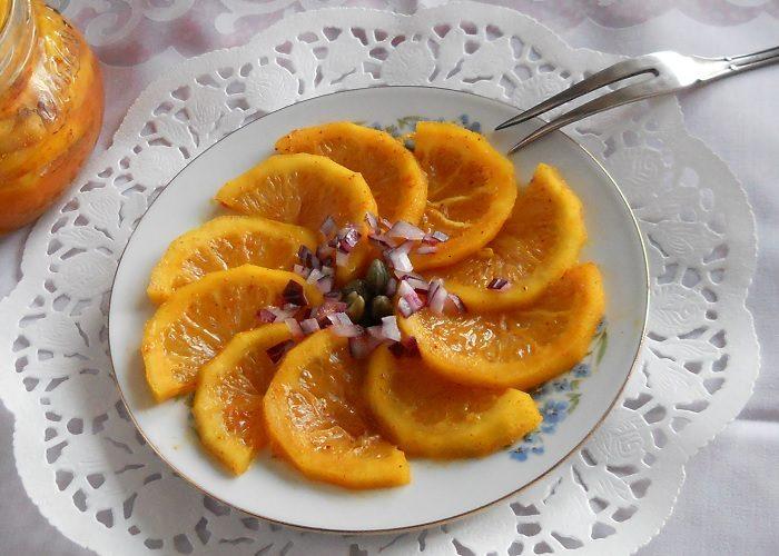 Быстро маринованные лимоны