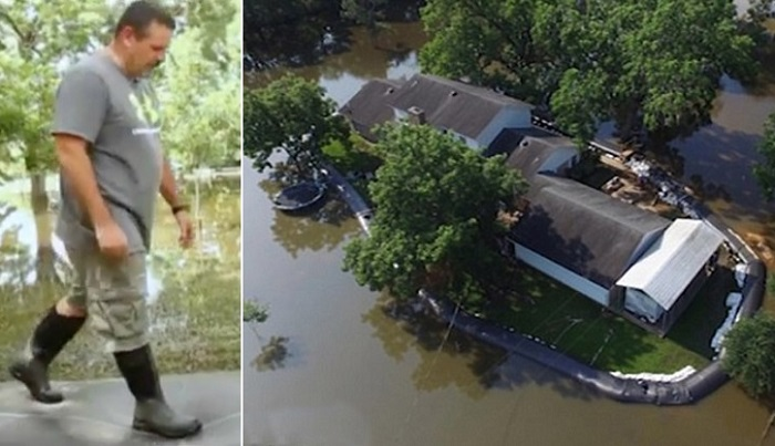 Соседи смеялись над тем, что он построил вокруг своего дома, но потом пожалели, что не сделали так же