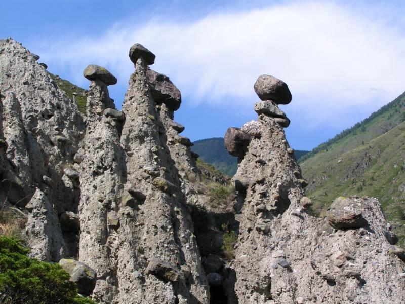 Природные чудеса России: Каменные грибы