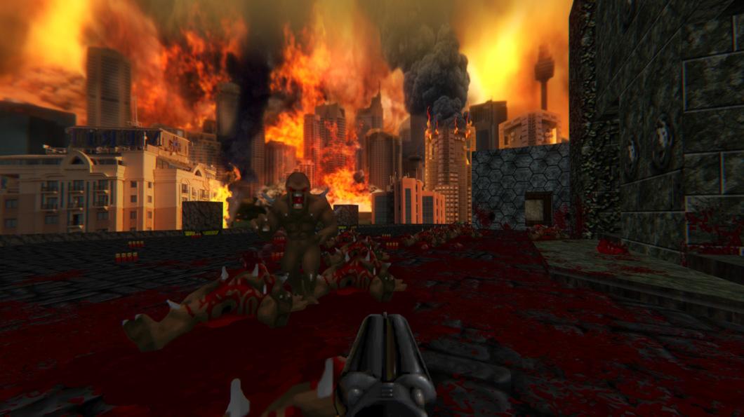 Моддер добавил в классические части Doom текстуры Ultra HD качества