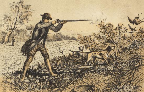 Именины охотника
