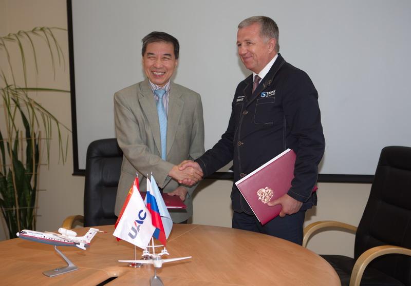 Подписаны контракты на поставку двух самолетов-амфибий Бе-200 в Китай