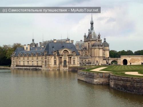 Замок Шантийи во Франции