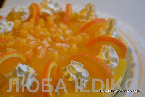 Апельсиновый торт 6