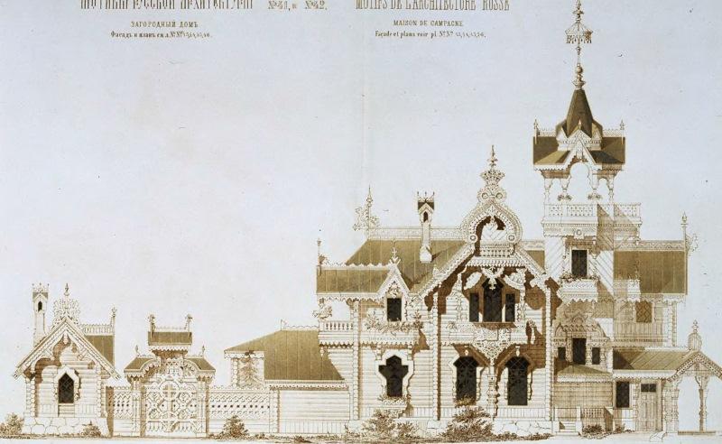 Непростая история деревянного особняка XIX века, забытого посреди дремучего леса