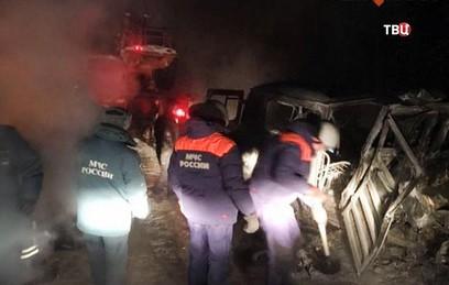 СКР возбудил два уголовных дела после ДТП в Якутии
