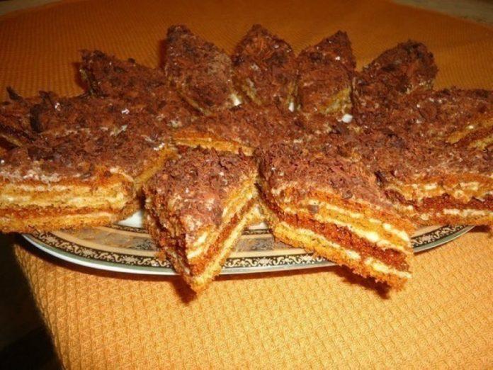 """Торт """"Мужской идеал"""" - простой и вкусный домашний торт!"""