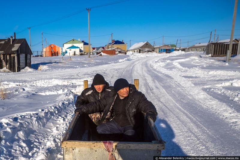 Край географии. Как выживают в посёлке среди тундры путешествия, факты, фото