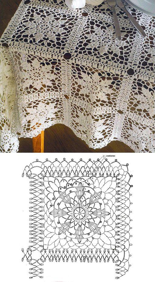 Square motif...