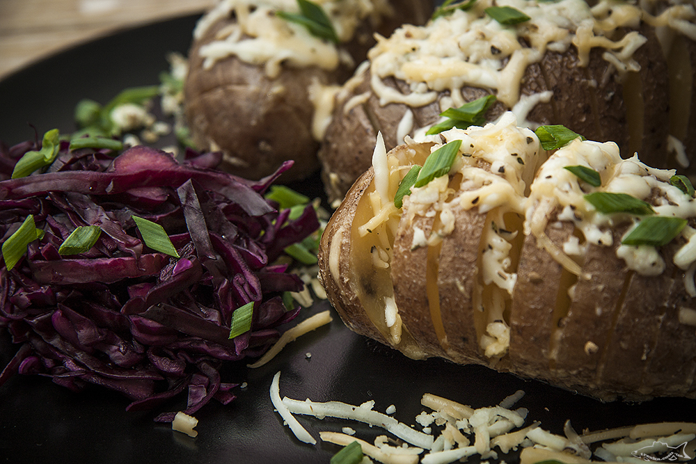 Картофель с сырным соусом (в мультиварке)