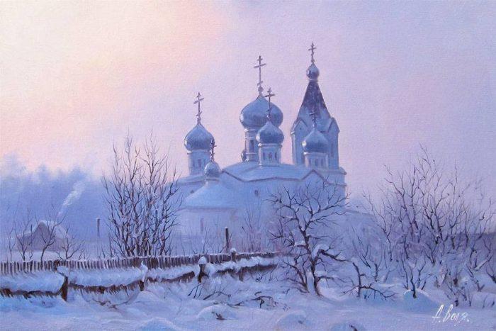 Прекрасные пейзажи замечательного российского художника Александра Воли