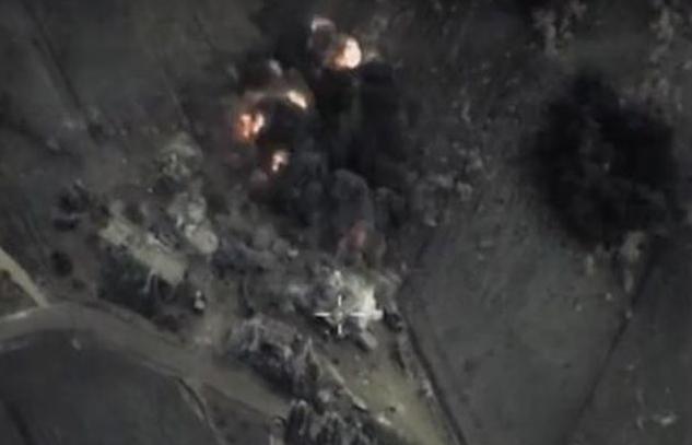 Операция «Возмездие»: ВКС России вбивают в землю боевиков, сбивших вертолет Ми-8