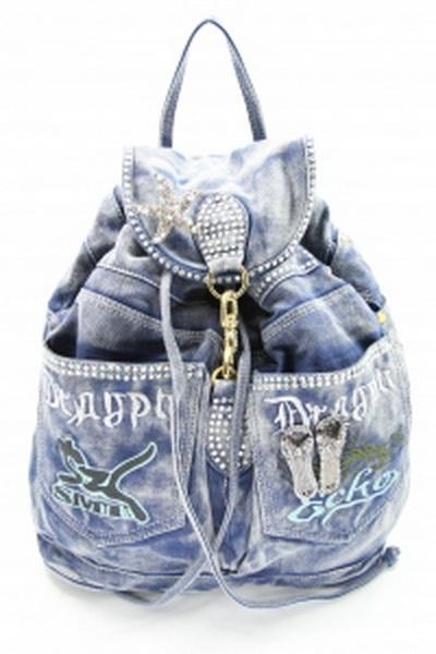 Рюкзаки из джинс поэтапно