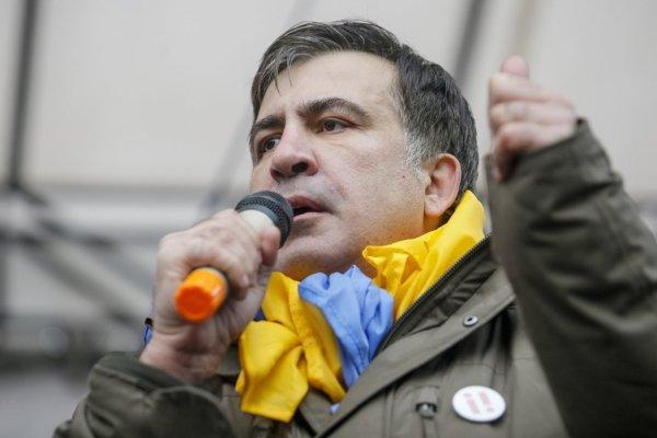 Саакашвили готов разговаривать с Порошенко только о его отставке