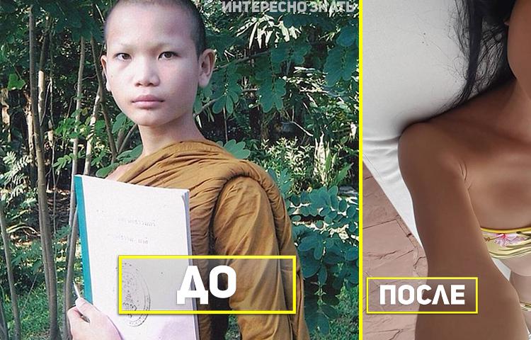 Этот буддийский монах ушел из монастыря и стал самой красивой моделью Таиланда!