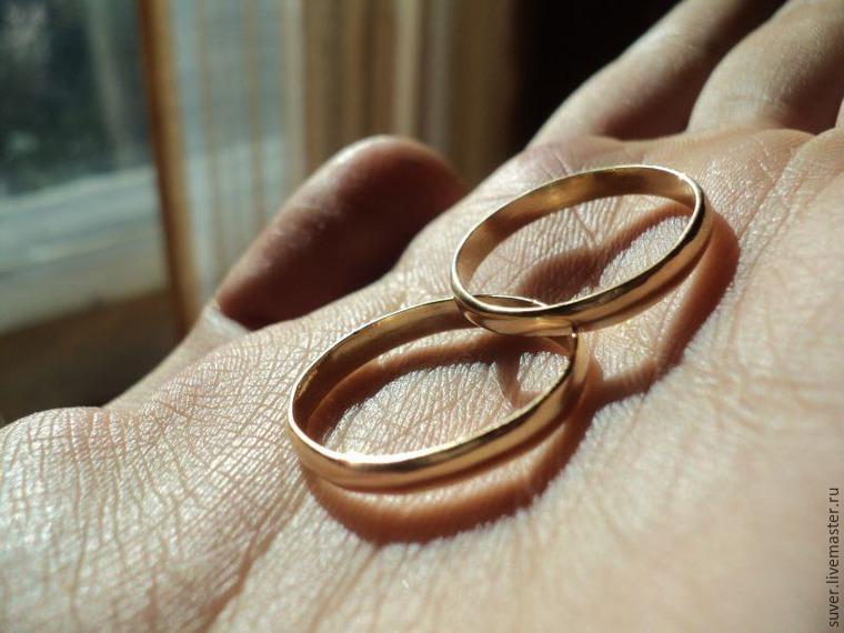 Как сделать обручальные кольца своими руками на машину