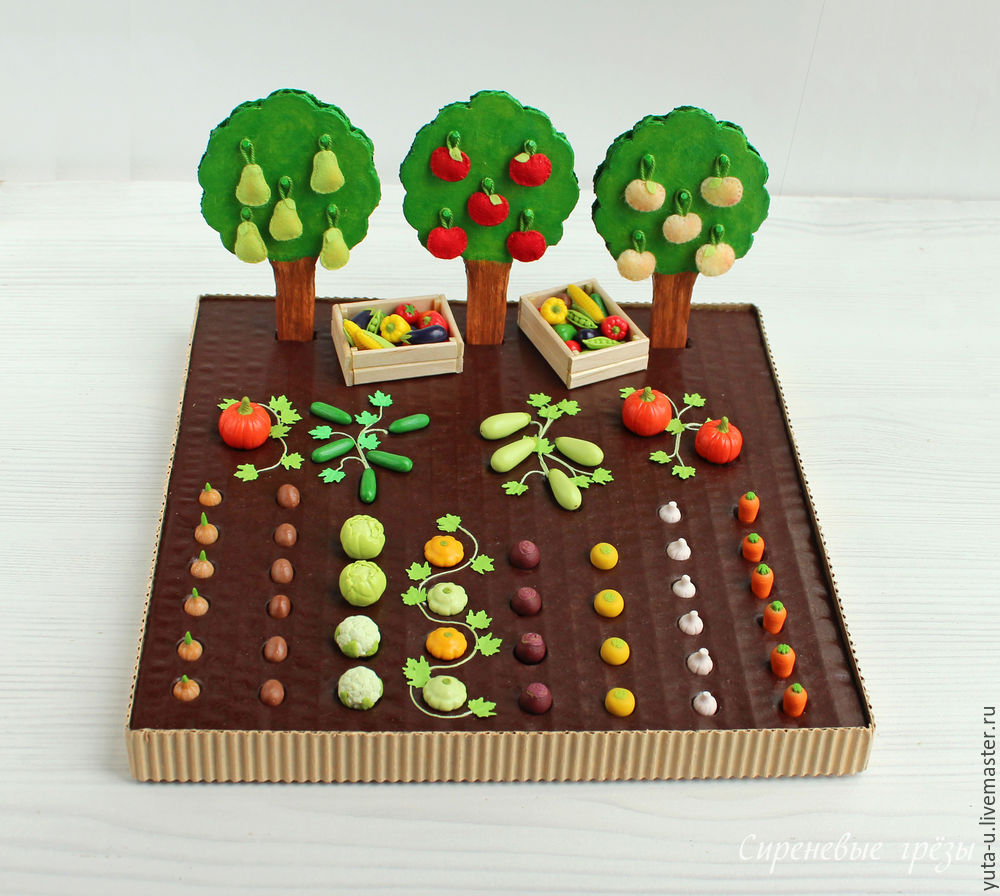 Создаем огород для детей