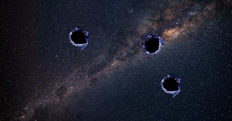 Что-то неизвестное пробило Млечный Путь